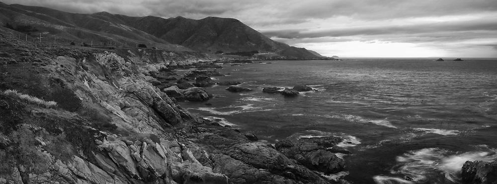 Along the shores of Big Sur near Garrapata State Park.