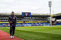 LONDON, ENGLAND - MAY 13: Yohan Cabaye (7) of Crystal Palace arrived for  the Premier League match between Crystal Palace and West Bromwich Albion at Selhurst Park on May 13, 2018 in London, England. MB Media