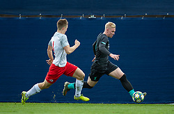 GRÖDIG, AUSTRIA - Tuesday, December 10, 2019: Liverpool's Luis Longstaff during the final UEFA Youth League Group E match between FC Salzburg and Liverpool FC at the Untersberg-Arena. (Pic by David Rawcliffe/Propaganda)