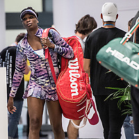 Venus Williams of the United States on day nine of the 2017 Australian Open at Melbourne Park on January 24, 2017 in Melbourne, Australia.<br /> (Ben Solomon/Tennis Australia)