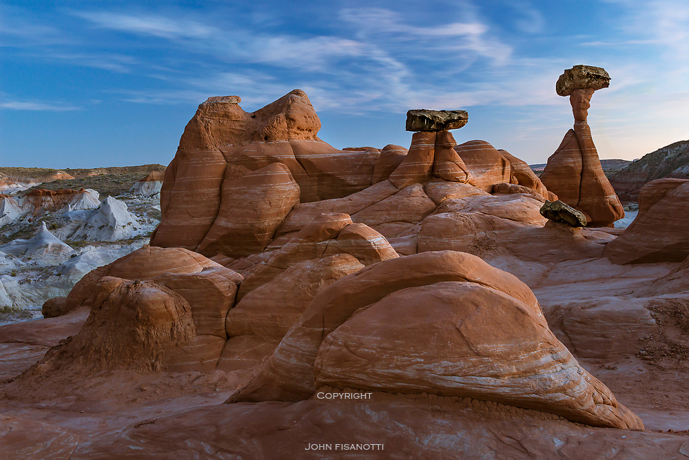 Toadstools in Grand Staircase -Escalante National Park