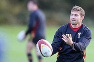 Leigh Halfpenny of Wales in action during the Wales rugby team training at the Vale Resort, Hensol, Vale of Glamorgan, in South Wales on Thursday 3rd November 2016, the team are preparing for their match against Australia this weekend. pic by Andrew Orchard, Andrew Orchard sports photography
