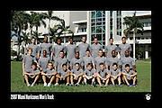Miami Hurricanes Track & Field Team Photo