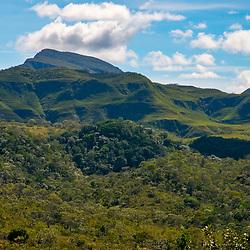 Paisagem (Cenário) fotografado no Parque Nacional da Chapada dos Veadeiros - Goiás. Bioma Cerrado. Registro feito em 2015.<br /> ⠀<br /> ⠀<br /> <br /> <br /> <br /> <br /> ENGLISH: Landscape photographed in Chapada dos Veadeiros National Park - Goias. Cerrado Biome. Picture made in 2015.