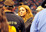 "Singer and actress Miley Cyrus speaks with New Orleans SAints Head Coach  Sean Payton on the sideline before the kick off of the game against the St. Louis Rams. Miley Cyrus isin New Orleans to film her new movie in""  So Undercover "" also staring Kelly Osbourne .hangs out on the Saints sidelines and poses with Saints owner Rita Benson Leblanc  prior to the kick off against the St. Louis Ram.The New Orleans Saints play the St. Louis rams in New Orleans at the Super Dome Sunday Dec. 12,2010. Tghhe Saints won 31-13 to go 10&3.Photo©SuziAltman. New Orleans, Louisiana, U.S. - Twilight Actor TAYLOR LAUTNER hangs out on the Saints sidelines prior to the kick off against the St. Louis Ram.The New Orleans Saints play the St. Louis rams in New Orleans at the Super Dome Sunday Dec. 12,2010. Saints went on to win 31-13..(Credit Image: © Suzi Singer and actress MILEY CYRUS poses for a fan's camera phone with New Orleans police officers on the sidelines prior to The New Orleans Saints' kickoff against the St. Louis Rams at the Superdome. Cyrus is currently filming ''So Undercover'' in New Orleans.Photo©Suzi Altman Twilight series ACTOR TAYLOR LAUTNER  wears a headset and listens as the plays are being called on the New Orleans Sainst sidelines during the game against the St. Louis Rams. LAUTNER and poses with Saints owner Rita Benson Leblanc  prior to the kick off against the St. Louis Ram.The New Orleans Saints play the St. Louis rams in New Orleans at the Super Dome Sunday Dec. 12,2010. Saints won 31-13.Photo©SuziAltman. New Orleans, Louisiana, U.S. - Twilight Actor TAYLOR LAUTNER hangs out on the Saints sidelines prior to the kick off against the St. Louis Ram.The New Orleans Saints play the St. Louis rams in New Orleans at the Super Dome Sunday Dec. 12,2010. Saints went on to win 31-13.Photo©Suzi Altman"