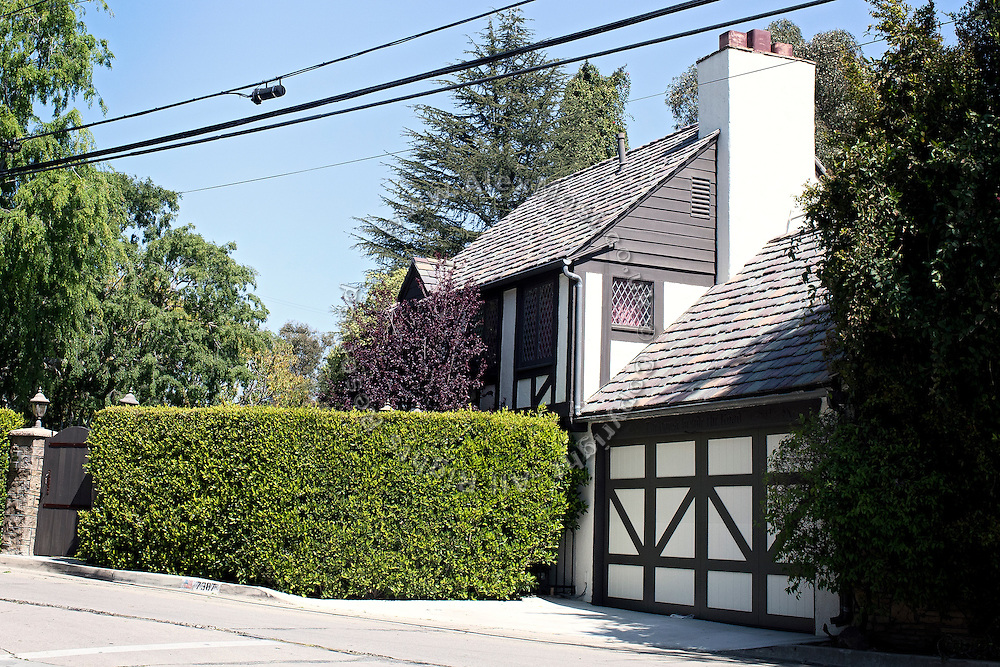 The house of Brian Austin Green and of his girlfriend Megan Fox, on the Hollywood Hills in Los Angeles, was robbed by the Bling Ring. (NOT FOR PUBBLICATON: 7387 Woodrow Wilson Drive, Los Angeles, CA 90046, USA)