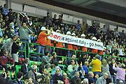 DESCRIZIONE : Eurocup 2013/14 Gr. J Dinamo Banco di Sardegna Sassari -  Brose Basket Bamberg<br /> GIOCATORE : Lavoratori E-On<br /> CATEGORIA : Palazzetto<br /> SQUADRA : Dinamo Banco di Sardegna Sassari<br /> EVENTO : Eurocup 2013/2014<br /> GARA : Dinamo Banco di Sardegna Sassari -  Brose Basket Bamberg<br /> DATA : 19/02/2014<br /> SPORT : Pallacanestro <br /> AUTORE : Agenzia Ciamillo-Castoria / Luigi Canu<br /> Galleria : Eurocup 2013/2014<br /> Fotonotizia : Eurocup 2013/14 Gr. J Dinamo Banco di Sardegna Sassari - Brose Basket Bamberg<br /> Predefinita :