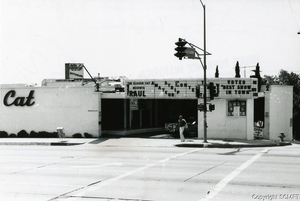 1973 Classic Cat Burlesque on Sunset Blvd.
