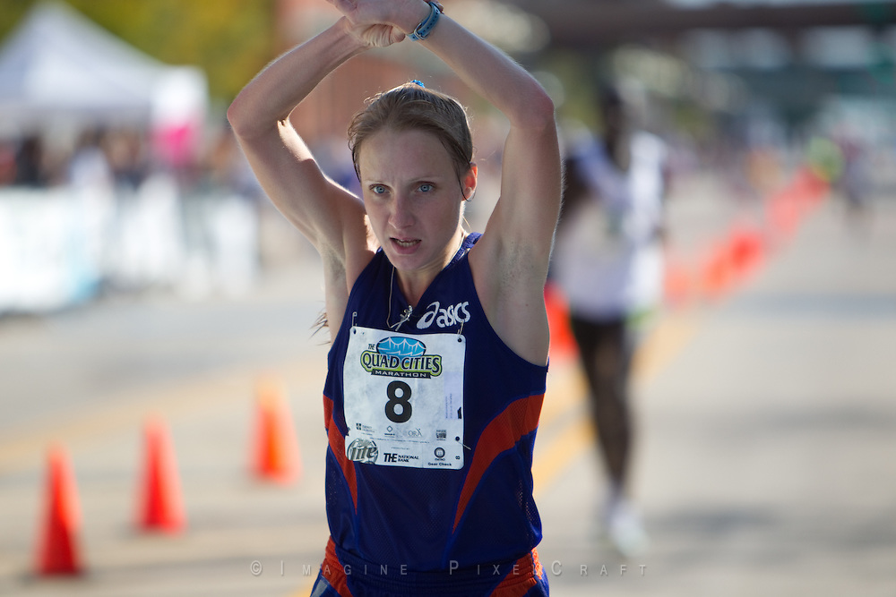 An image showing just some of the fun everyone has while they are at the Quad Cities Marathon.