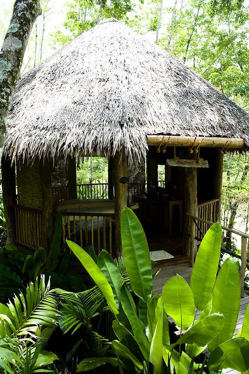 The spa at Evason Hideaway & Six Senses Spa at koh Yao Noi island, Thailand