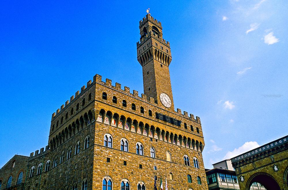 Palazzo Vecchio, Piazza della Signoria, Florence, Italy