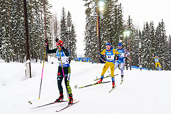 March 10, 2019 - –Stersund, Sweden - 190310 Tuuli Tomingas of Estonia and Linn Persson of Sweden during the Women's 10 km Pursuit during the IBU World Championships Biathlon on March 10, 2019 in Östersund..Photo: Petter Arvidson / BILDBYRÃ…N / kod PA / 92254 (Credit Image: © Petter Arvidson/Bildbyran via ZUMA Press)