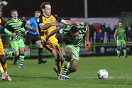 Forest Green Rovers v Port Vale 110220