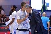 Tepic Milenko, Dell'Agnello Sandro<br /> Happycasa Brindisi - Fiat Torino<br /> Legabasket serieA2017-2018<br /> Brindisi , 01/10/2017<br /> Foto Ciamillo-Castoria/M.Longo