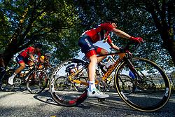 September 23, 2017 - Bergen, NORWAY - 170923 Katrine Aalerud and Stine Borgli of Norway compete during the Women Elite Road Race on September 23, 2017 in Bergen..Photo: Vegard Wivestad GrÂ¿tt / BILDBYRN / kod VG / 170026 (Credit Image: © Vegard Wivestad Gr¯Tt/Bildbyran via ZUMA Wire)