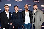 Premiere van de misdaadfilm Patser in Amsterdam Pathe Arena.<br /> <br /> Op de foto: Nasrdin Dchar (R)