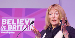 UKIP 2015 Spring Conference at the Winter Gardens Margate, Great Britain <br /> 28th February 2015 <br /> <br /> <br /> <br /> Kellie Maloney <br /> formerly Frank Maloney <br /> <br /> <br /> <br /> Photograph by Elliott Franks <br /> Image licensed to Elliott Franks Photography Services