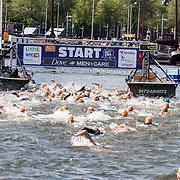 NLD/Amsterdam/20170903 - Amsterdam City Swim 2017, Zwemmers