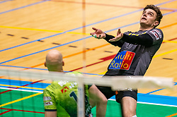 Rob Jorna of Orion in action during the semi cupfinal between Active Living Orion vs. Amysoft Lycurgus on April 03, 2021 in Saza Topsportshall Doetinchem