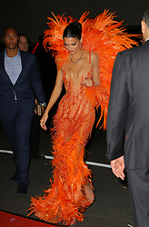 May 9, 2019 - New York, New York, United States - Kendall Jenner arriving at The Mark Hotel following the 2019 'Camp: Notes on Fashion' Met Gala on May 06, 2019 in New York City  (Credit Image: © Mike Reed/Ace Pictures via ZUMA Press)