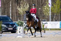 Roos Laurence, BEL, Fil Rouge<br /> CDI 3* Opglabeek<br /> © Hippo Foto - Dirk Caremans<br />  24/04/2021
