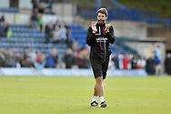 Lincoln City manager Danny Cowley applauds the fans after defeat to Wycombe Wanderers during the EFL Sky Bet League 1 match between Wycombe Wanderers and Lincoln City at Adams Park, High Wycombe, England on 7 September 2019.