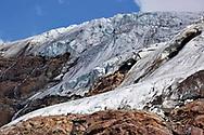 Particolari del ghiacciaio dei Forni. Lombardia, Agosto 2020.