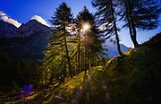 Pozza Tramontana hike in the Dolomites in Italy.