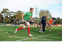 27 June 2013; Alun Wyn Jones, British & Irish Lions, during squad training ahead of their 2nd test match against Australia on Saturday. British & Irish Lions Tour 2013, Squad Training. Scotch College, Hawthorn, Melbourne, Australia. Picture credit: Stephen McCarthy / SPORTSFILE