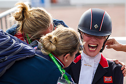 Sophie Christiansen and Janeiro 6 World Champion in the Freestyle Grade Ia Para Dressage - Alltech FEI World Equestrian Games™ 2014 - Normandy, France.<br /> © Hippo Foto Team - Leanjo de Koster<br /> 25/06/14