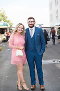 29/07/2017  Maeve McGaughey Omagh and Patrick Fox Tyrone on Plate day of the Galway Races.   Photo:Andrew Downes, xposure