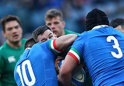 February 24, 2019 - Rome, Italy - Italy v Ireland - Rugby Guinness Six Nations.Jordi Murphy of Ireland at Olimpico Stadium in Rome, Italy on February 24, 2019. (Credit Image: © Matteo Ciambelli/NurPhoto via ZUMA Press)