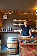 The Apothecary Tasting Room adjacent to the distillery is open to the public and features the Apothecary Line, a specialty collection of small-batch, limited edition spirits packaged in individually numbered 375ml bottles.  The line is exclusively available in Portland, Oregon. Lee Medoff is one of the owners who oversees the production of the distillery.