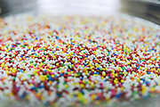 candy sprinkles for cakes (Hundreds and Thousands)