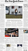 February 28, 2021 (USA): Front-page: Today's Newspapers In United States