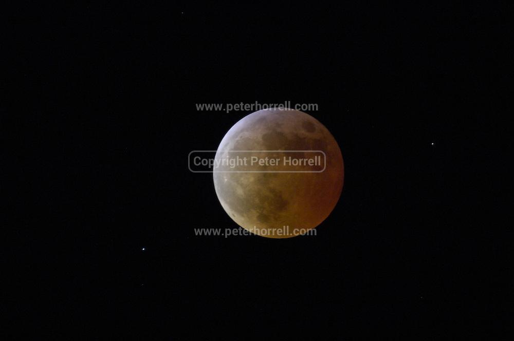 Lunar eclipse. Saturday 3rd March 2007.