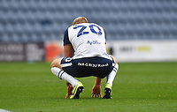 A dejected Preston North End's Jayden Stockley at the final whistle<br /> <br /> Photographer Dave Howarth/CameraSport<br /> <br /> The EFL Sky Bet Championship - Preston North End v Stoke City - Saturday 26th September 2020 - Deepdale - Preston <br /> <br /> World Copyright © 2020 CameraSport. All rights reserved. 43 Linden Ave. Countesthorpe. Leicester. England. LE8 5PG - Tel: +44 (0) 116 277 4147 - admin@camerasport.com - www.camerasport.com