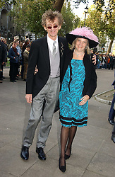 MR MATTHEW & LADY ANNE CARR at the wedding of Clementine Hambro to Orlando Fraser at St.Margarets Westminster Abbey, London on 3rd November 2006.<br /><br />NON EXCLUSIVE - WORLD RIGHTS