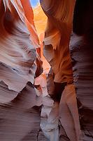 Lower Antelope Canyon, Page Arizona. Image taken with a Nikon D3 and 24 mm f/3.5 PC-E lens (ISO 200, 24 mm, f/16, 0.5-3 sec). HDR composite of 5 images using Photomatix Pro.