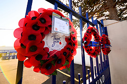 A general view of the Memorial gates outside the memorial stadium - Mandatory by-line: Dougie Allward/JMP - 17/11/2018 - FOOTBALL - Memorial Stadium - Bristol, England - Bristol Rovers v Scunthorpe United - Sky Bet League One