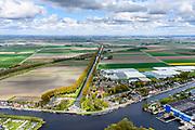 Nederland, Noord-Holland, Haarlemmermeer, 28-04-2017; Buitenkaag, voormalig stoomgemaal De Leeghwater aan de Hoofdvaart in de Haarlemmermeer. Het gemaal is gebruikt om de polder Haarlemmermeer droog te leggen. <br /> Former pumping station Leeghwater in Haarlemmermeer. The pumping station was used to drain the polder Haarlemmermeer.<br /> luchtfoto (toeslag op standard tarieven);<br /> aerial photo (additional fee required);<br /> copyright foto/photo Siebe Swart