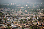 Bamako, the captial of Mali in W. Africa. Material World Project.