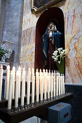 La Basilica Cattedrale venne costruita per volere del Vescovo Castrese Scaja, che nel 1750 fece demolire la precedente chiesa medievale (pericolante a causa di un terremoto avvenuto il 20 febbraio 1743) facendo costruire la nuova cattedrale di gusto barocco; a sua volta probabilmente la struttura medievale poggiava su un tempio pagano.La Cattedrale, per volere di Giovanni Paolo II, è stata elevata nel 1992 a Basilica Pontificia Minore.