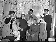 The Maguire family celebrates the arrival of their 20th baby at the Rotunda Hospital. Even for its time, this was an unusually large family, and the event made the British as well as the Irish papers..09.10.1960