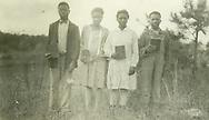 Rosebud, Ala. best four pupils, Dec. 1927, Abraham Ramsey (16), Adelaide Cannon (14), Jola Jones (17) and David McBryde (8)
