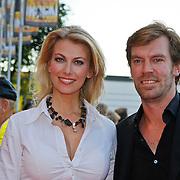 NLD/Utrecht/20100903 - Premiere Queen musical We Will Rock You, Susan Smit en partner Peter Veldhoven