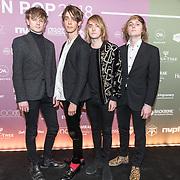NLD/Amsterdam/20180213 - Edison Pop Awards 2018, Orange Skyline