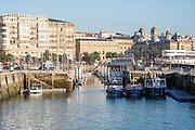 Harbor in San Sebastian (Spain)