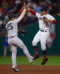 Gleyber Torres and Mookie Betts, 2019 All-Star Game