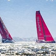 © Maria Muina I MAPFRE. Itajaí in-port race. Regata costera de Itajaí.